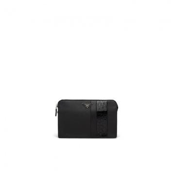 Prada 2VF056_2EVM_F0002_V_ORO 黑色 Saffiano男士手袋