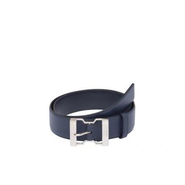 Prada 2CM185_053_F0216 蓝色 Saffiano Cuir腰带