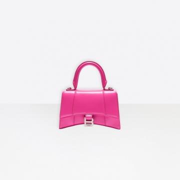 Balenciaga 5935461JH1Y5611 粉红色 HOURGLASS 小号沙漏包