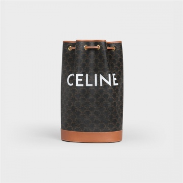 Celine 191532BZK.04LU TRIOMPHE帆布中号水手包