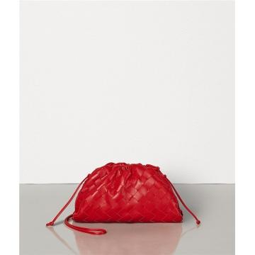 BV葆蝶家 585852VCPP18855 亮红色 编织手拿包和收纳包