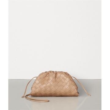 BV葆蝶家 585852VCPP19908 淡粉色 编织手拿包和收纳包