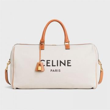 Celine 191412BV6.02NT VOYAGE 棉质帆布和小牛皮大号手袋