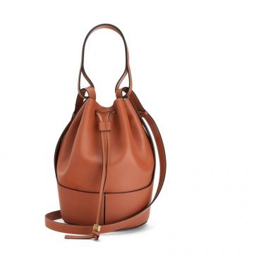 Loewe罗意威 0010440519 棕色 Balloon 水桶包