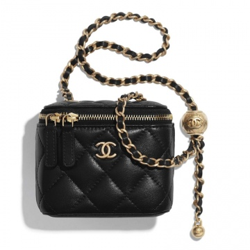 Chanel香奈儿 AP1447 B02991 94305 金属球 小号经典链子盒型手袋