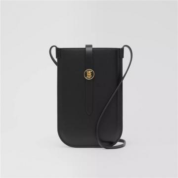 Burberry博柏利 80267361 皮革手机保护套