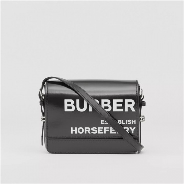 Burberry博柏利 80260961 Grace 小号 Horseferry印花涂层帆布格雷丝包