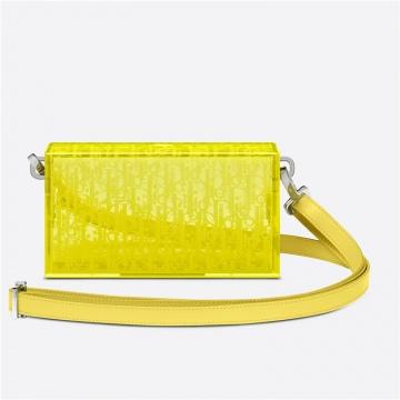 Dior迪奥 2DTCA261YSS_H20E 黄色 树脂玻璃手拿包