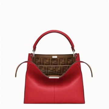 Fendi芬迪 8BN310A5E9F15WH 红色 PEEKABOO X-LITE中号手袋