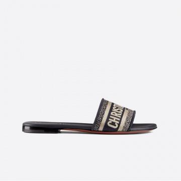 Dior KCQ166ERC_S56B 蓝色 DWAY 女士凉鞋