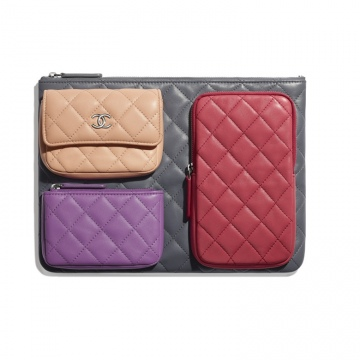 Chanel香奈儿 AP1054 Y01480 N5553 随身包