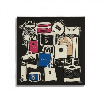 Chanel香奈儿 AA7249 方形围巾