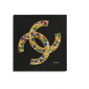 Chanel AA6929 B03524 94305 方形围巾
