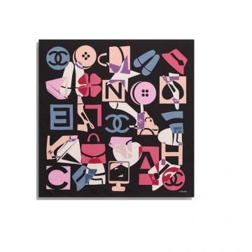 Chanel AA7367 方形围巾
