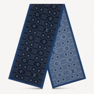 LV M76037 M76262 MONGRAM FLAKE 针织围巾