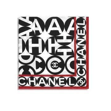 Chanel AA7361 B04844 NB112 方形围巾