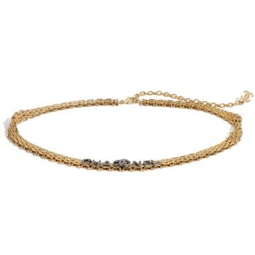 Chanel香奈儿 AB4193 B03473 N7710 金属与水晶腰带