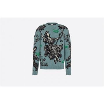 Dior 043M629AT207_C688 女王针织衫