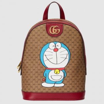 Gucci 647816 2VOAG 8595 Doraemon x Gucci联名系列 小号背包