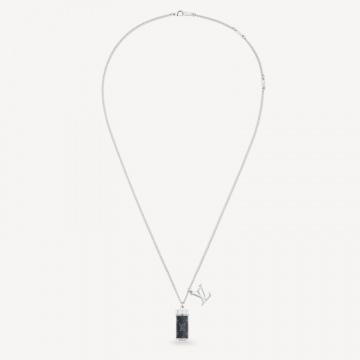 LV M63641 MONOGRAM ECLIPSE 配饰项链