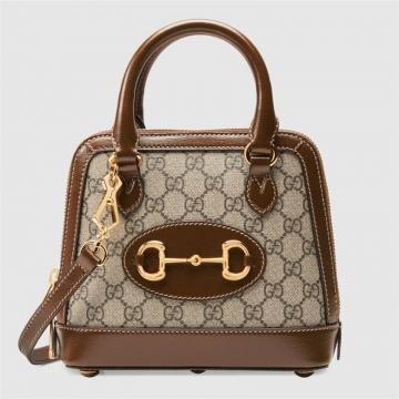 Gucci 640716 马衔扣1955系列迷你手提包