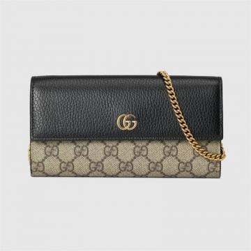 Gucci 546585 17WAG 1283 GG Marmont系列链带钱包