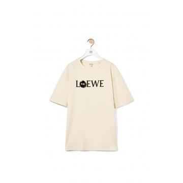 Loewe H848341X01 棉质小灰兔T恤