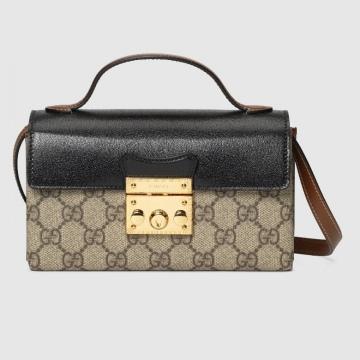 Gucci 652683 96GAG 9785 Padlock系列 迷你手袋