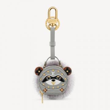 LV M69019 RACCOON SOFT HAT BOX 包饰与钥匙扣