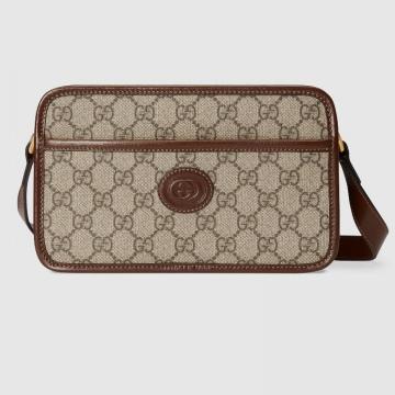 Gucci 658572 92TCG 8563 互扣式双G 迷你手袋