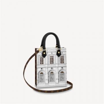 LV x Fornasetti M80991 PETIT SAC PLAT 手袋