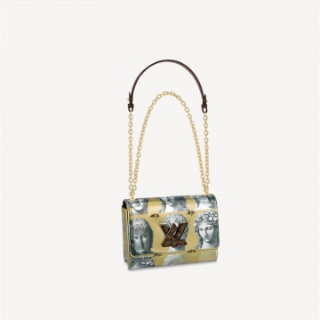 LV x Fornasetti M59137 TWIST 中号手袋