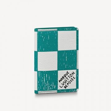 LV N60494 青蓝色 口袋钱夹