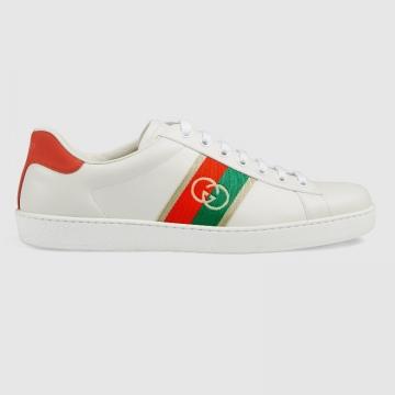 Gucci 644749 645767 Ace系列 互扣式双G运动鞋