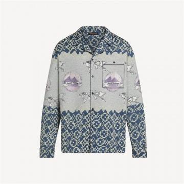 LV 1A975F WAX 睡衣式衬衫