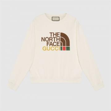The North Face x Gucci 626990 XJDCM 9756 联名系列男士棉质卫衣